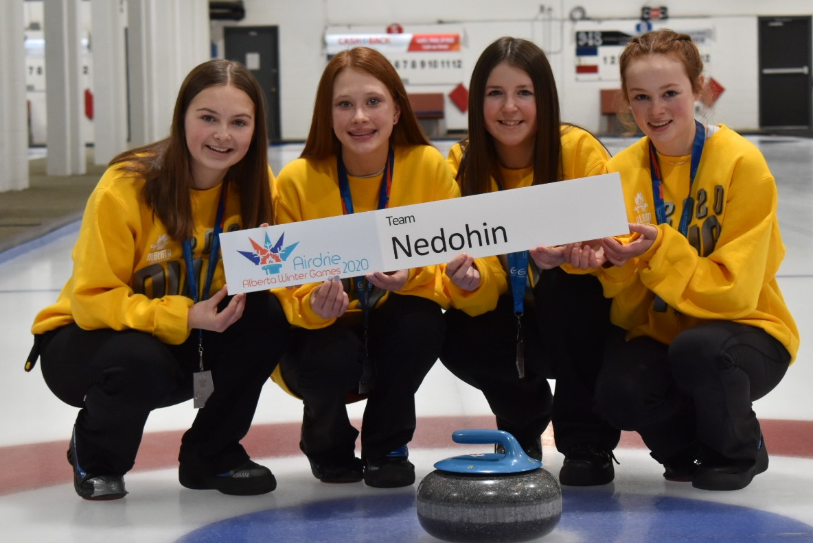 2020 Team Nedohin Alberta Winter Games