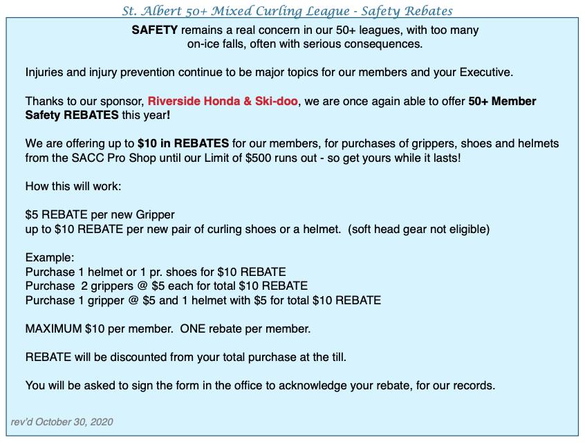 2020 Safety Rebatexx