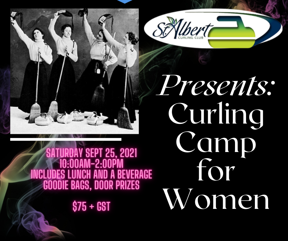 Curling Camp for Women Poster