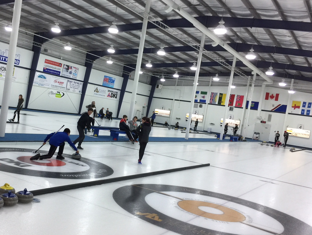 Thurs curling